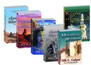 6 books 3-d