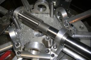 58- reaming the bearing block