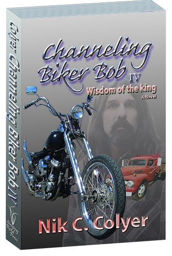 Book cover for Channeling Biker Bob 4